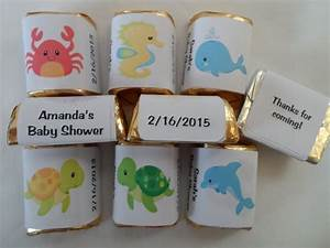 30 PERSONALIZED UNDER THE SEA THEME BABY SHOWER, BIRTHDAY