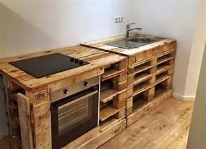 Küche Aus Europaletten : 21 tolle diy ideen mit altholz oder palettenholz diy bastelideen wohnung pinterest ~ Whattoseeinmadrid.com Haus und Dekorationen