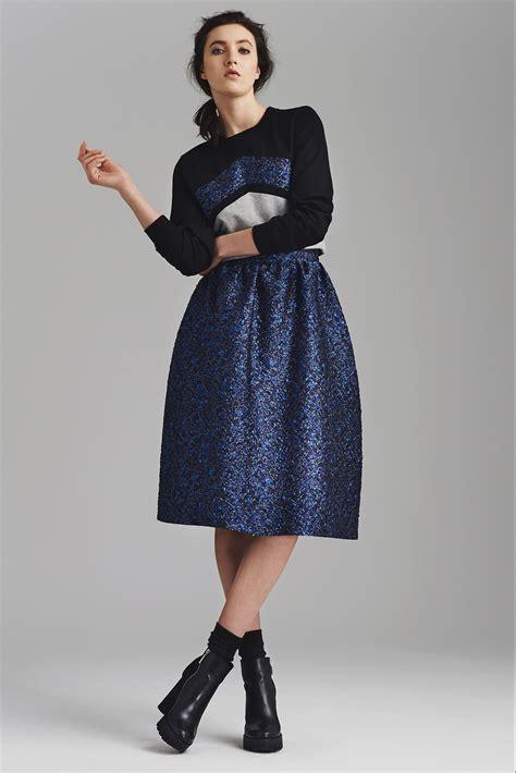 Black Flared Skirt Dress Pattern