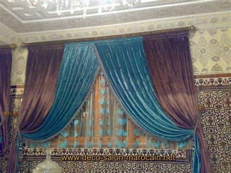 rideaux modernes d 233 co salon marocain