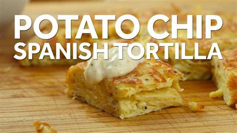 spanish tortilla  salt  vinegar