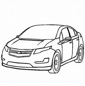 chevy camaro coloring page coloring home With new chevy volt 2017