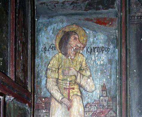 Best 134 St Christopher  In Art Images On Pinterest