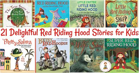 These Versions Of Little Red Riding Hood From Around The