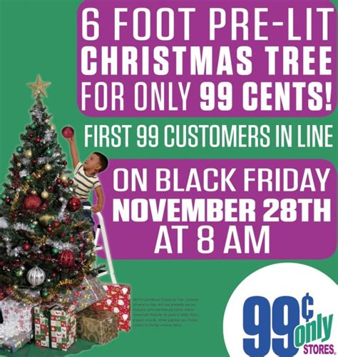 6 pre lit christmas trees only 0 99 black friday deal