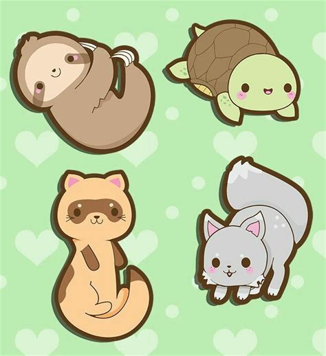 166+ Chibi Cute Kawaii Animals