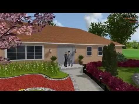Curb Appel For A Ranch Style House Youtube
