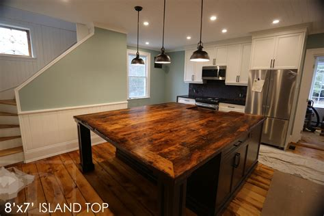 Rustic Kitchen Island For Sale Ontario by Hd Threshing Reclaimed Wood Furniture