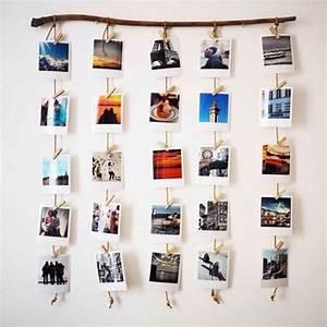 Tableau Pele Mele Photo : p le m le photo 3 diy pour une d coration originale ~ Teatrodelosmanantiales.com Idées de Décoration