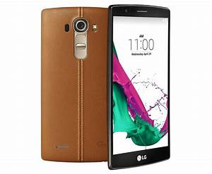 Lg G4 32gb H815 Mobile Phone Tanned Leather Ex