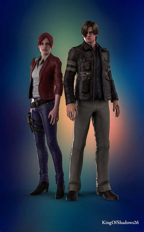 Best Buddies Leon And Claire By Kingofshadows26 On