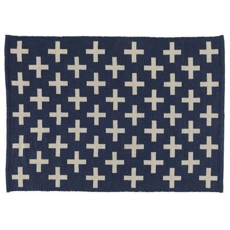 land of nod rugs 4 x 6 indoor outdoor rug black the land of nod