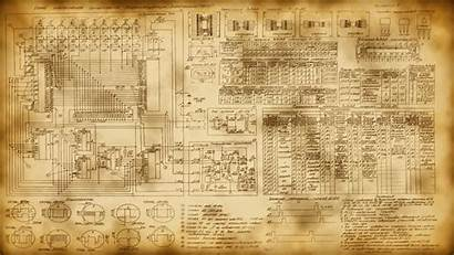 Schematic Wallpapers Modified Russian Technology