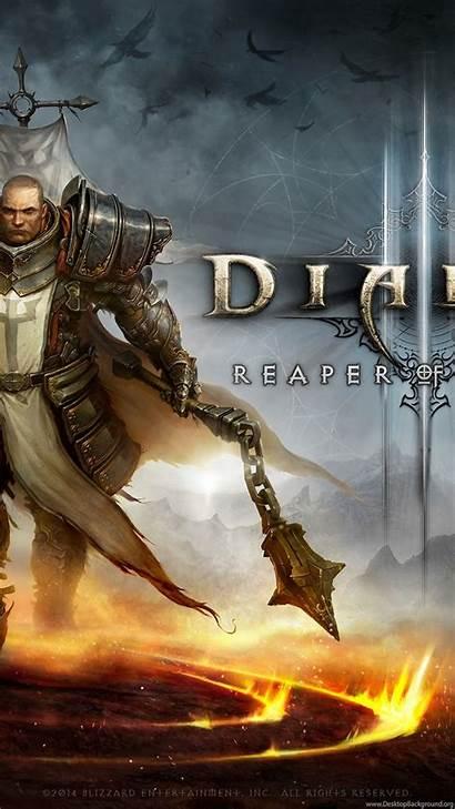 Crusader Diablo Wallpapers Reaper Souls Desktop Bareheaded