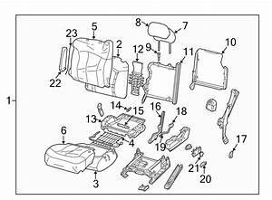 Gmc Sierra 1500 Spring  Seat  Support   Lower   Bench