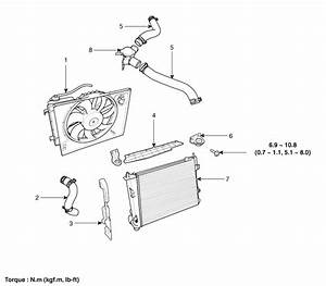 Hyundai Accent  Radiator  Components And Components Location - Cooling System