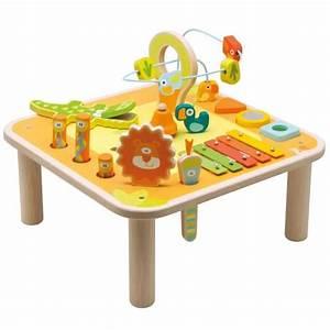 Table Eveil Bebe : table activites bois achat vente tapis veil aire b b 8003444829437 cdiscount ~ Teatrodelosmanantiales.com Idées de Décoration