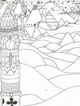 Spacescape Coloring Designlooter sketch template