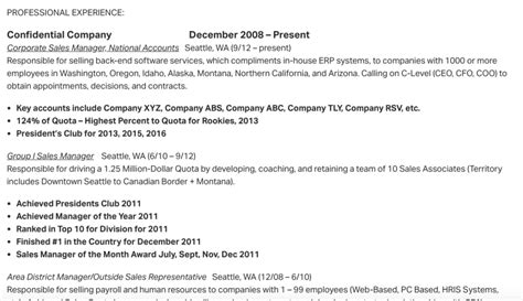 Chronological Resume Sle Canada by Hiring A Sales Rep How To Efficiently Screen Resumes And