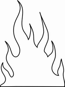 Fire Flames Clipart Black And White | Clipart Panda - Free ...