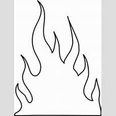 Flames Outlines Clip Art At Clkercom  Vector Clip Art Online, Royalty Free & Public Domain