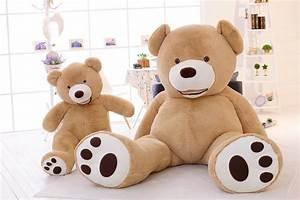 200 Cm Teddy : 2016 giant teddy bear 200cm 78 39 39 103 39 39 inch pp cotton filling plush huge soft toy plush toys ~ Frokenaadalensverden.com Haus und Dekorationen