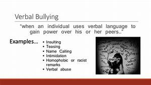 Problems of Well-Being: Bullying