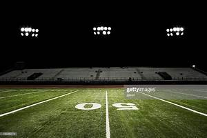 Football Field At Night High-Res Stock Photo - Getty Images