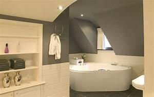 salle de bain moderne 2013 avec peinture carrelage salle With idee de couleur de peinture pour salle de bain