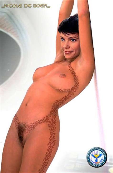 Nicole de boer naked
