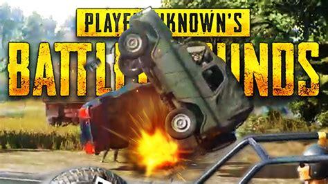 Epic 3 Squad Car Crash! Player Unknown Battlegrounds (pubg
