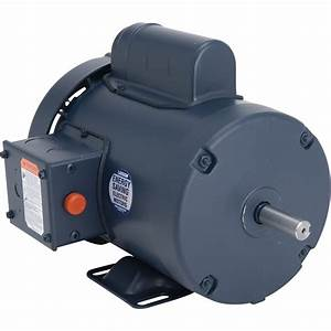 Leeson Woodworking Electric Motor  U2014 1 Hp  3 450 Rpm  115