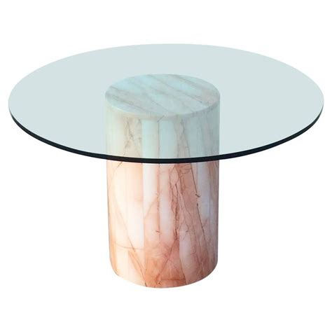 marble glass dining table italian marble and glass dining table at 1stdibs