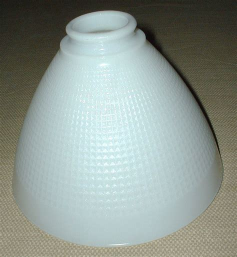 vintage white glass l shade vintage white milk glass l shade lshade globe shades