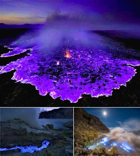 lava l blue kawah ijen vulcano dalla lava in indonesia