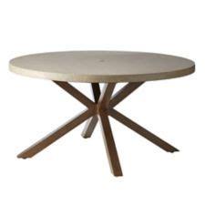 parson desk canadian tire canvas seabrooke concrete patio dining table