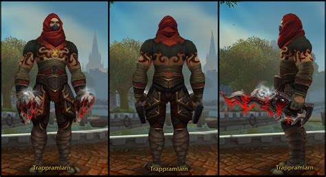 leather transmog rogue transmogrification redd comments