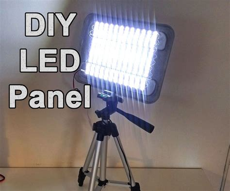 electrical contractors led lighting diy powerful led panel video and work light work