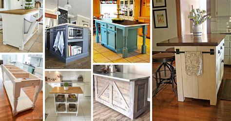 kitchen island ideas diy 23 best diy kitchen island ideas and designs for 2018 5081