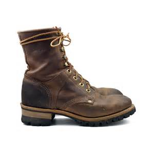 womens work boots rustic 39 s logger boots lace up hiker work boot in