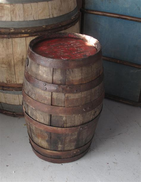 Small Wooden Whisky Barrel  Classic Crockery Event Hire