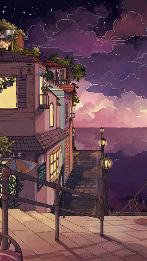 iphone wallpaper anime aesthetic