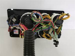Yanmar Marine Engine Instrument Panel