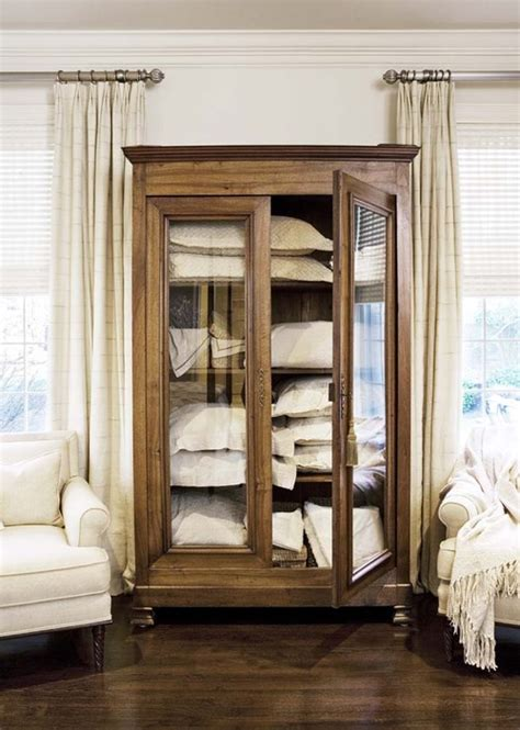 Linen Armoire Storage by Add Storage With An Armoire Town Country Living