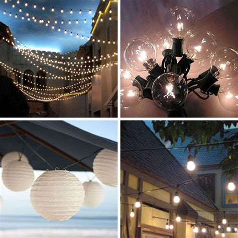 the best outdoor string lights to light up the backyard