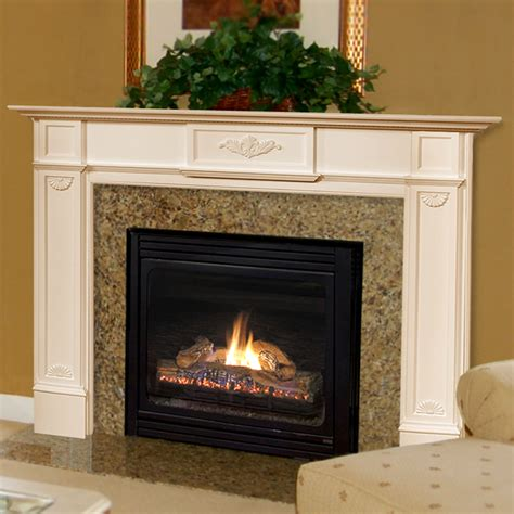 fireplace mantels for pearl mantels 510 48 newport 48 inch fireplace