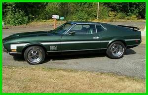 1971 Ford Mustang Mach 1 Fastback 351 Cleveland 80,000 Miles 4-Spd Manual Hurst for sale - Ford ...