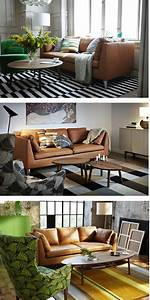 Ikea Stockholm Sessel : the stockholm sofa is made from full grain leather which is a natural soft material that ~ Markanthonyermac.com Haus und Dekorationen