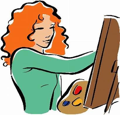 Clipart Portrait Self Painting Clip Advertisement Projects