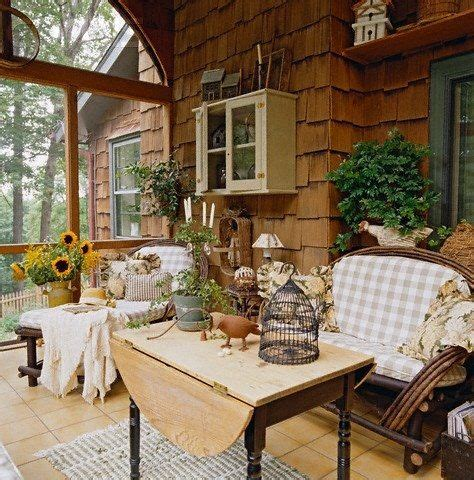Country Porch Pretty Porches Pinterest